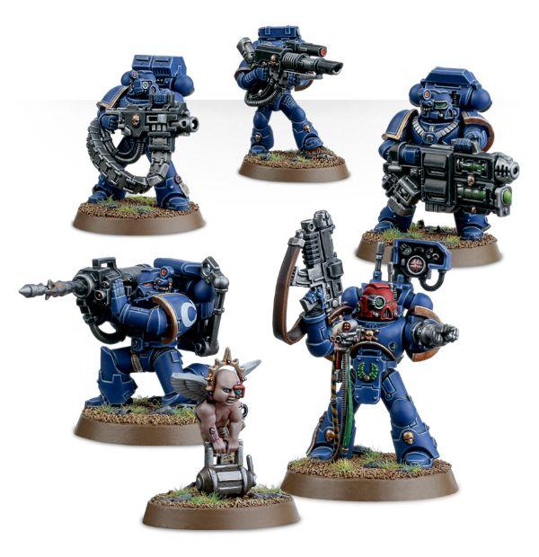 Warhammer 40K Space Marines Tactical Squad Melta Bomb /& Grenades