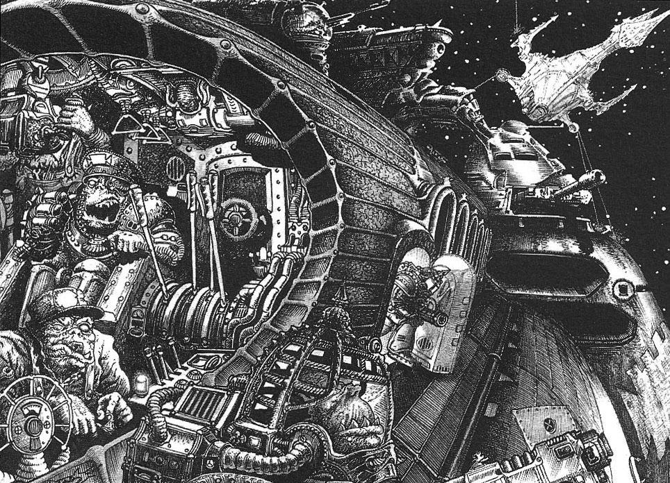 [GALERIE] Artworks - Page 6 Orks_Space