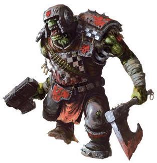 A Ork GRETCHIN MODEL Orks Boys 40K