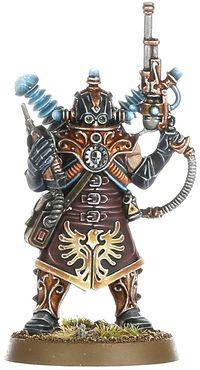 Warhammer 40k Larsen van der Grauss tuer équipe Expansion Rogue Épuisé RARE W12 D