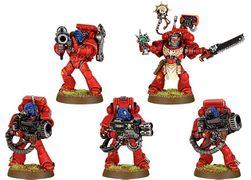 Warhammer 40K Space Marines Devastator Squad Chainsword