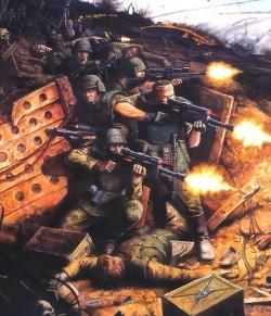 Империум Человечества, Имперская Гвардия 250px-Guard_trench