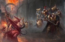 Battle of Lion's Gate - Warhammer 40k - Lexicanum