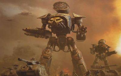 Reaver Battle Titan - Warhammer 40k - Lexicanum